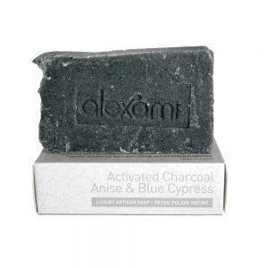 alexami activated charcoal handmade soap