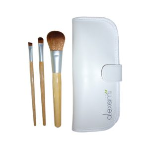 alexami vegan makeup brush set